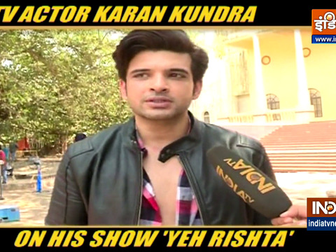 Happy to be back on small screen, says TV actor Karan Kundra