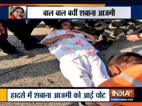 अभिनेत्री शबाना आज़मी कार दुर्घटना में घायल हुईं, पीएम मोदी ने उनके शीघ्र स्वस्थ होने की कामना की