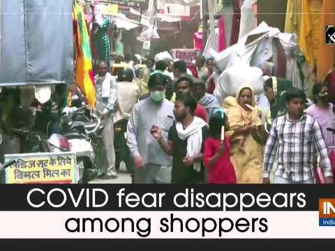 COVID fear disappears among shoppers