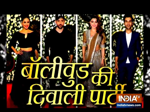 Celebs dazzle at producer Anand Pandit's Diwali bash