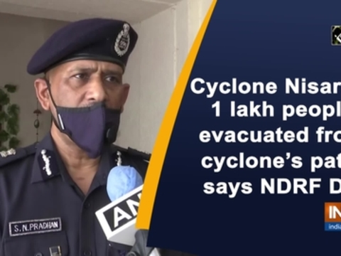 Cyclone Nisarga: 1 lakh people evacuated from cyclone's path, says NDRF DG