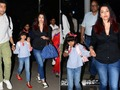 Aishwarya Rai Bachchan, Abhishek Bachchan return with Aaradhya from their Goa vacation