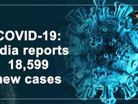 COVID-19: India reports 18,599 new cases