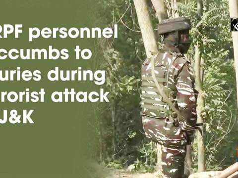 CRPF personnel succumbs to injuries during terrorist attack in JandK