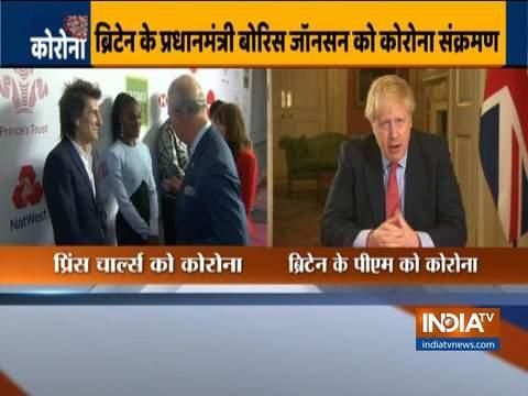 ब्रिटेन के प्रधानमंत्री बोरिस जॉनसन कोरोना टेस्ट में पॉजिटिव पाए गए