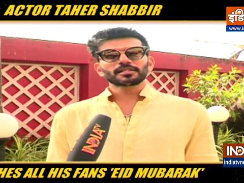 अभिनेता ताहेर शब्बीर ने कैसे मनाई ईद? जानें