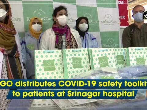 NGO distributes COVID-19 safety toolkits to patients at Srinagar hospital