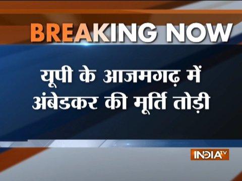 Uttar Pradesh: Ambedkar statue vandalized in Azamgarh