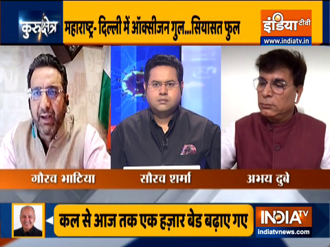 Kurukshetra: Political tussle over lockdown, Watch Full Debate