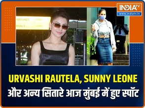Celebs out and about: Urvashi Rautela, Sunny Leone and other stars spotted