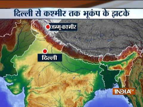 6.1-magnitude earthquake hits Afghanistan; tremors felt in Delhi-NCR, Punjab, J&K