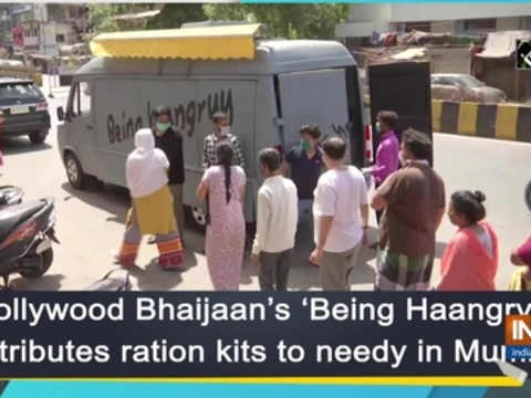 Bollywood Bhaijaan's 'Being Haangry' distributes ration kits to needy in Mumbai