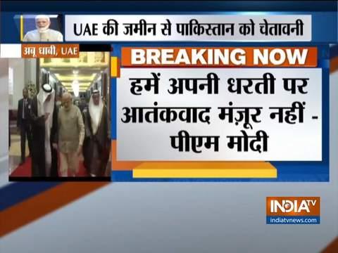 खलीज टाइम्स से इंटरव्यू के दौरान पीएम मोदी ने साधा पाकिस्तान पर निशाना