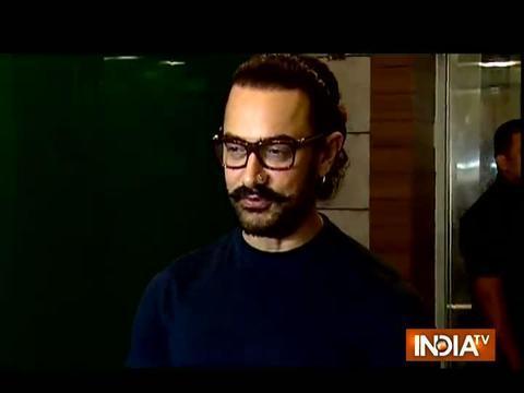 Aamir Khan and Zaira Wasim celebrate success of Secret Superstar