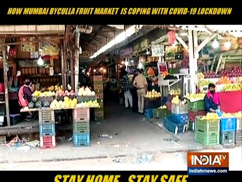 जानिए मुंबई बाइकुला फल बाजार कोरोनोवायरस लॉकडाउन का मुकाबला कैसे कर रहा है
