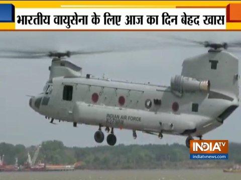भारतीय वायु सेना में आज चार चिनूक चॉपर्स होंगे शामिल