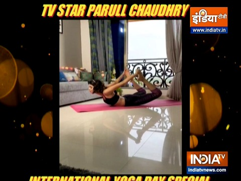 TV actress Parull Chaudhry: Yoga is food for your soul
