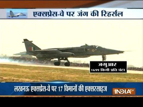 IAF jets land on Lucknow Expressway