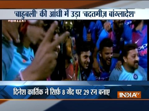 IND vs BAN: Rohit's fifty, Karthik's heroics stun Bangladesh as India clinch Nidahas Trophy