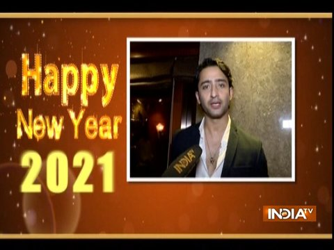 TV stars wish their fans and viewers a very Happy Happy New Year 2021