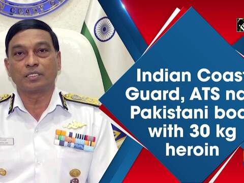 Indian Coast Guard, ATS nab Pakistani boat with 30 kg heroin