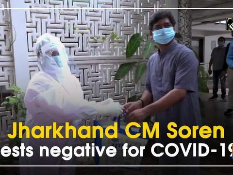 Jharkhand CM Soren tests negative for COVID-19
