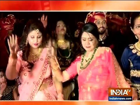 Yeh Rishta Kya Kehlata Hai team graces Mohsin Khan's sister's wedding in style