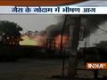 Series of blasts rock Patna after massive fire engulfs LPG godown