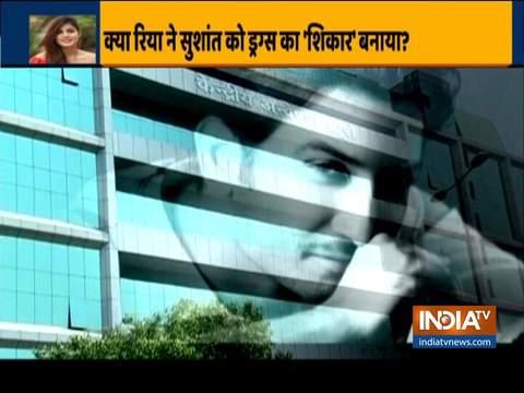 Was Rhea Chakraborty making Sushant Singh Rajput consume drugs?