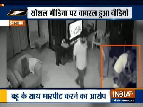 वायरल वीडियो: हाईकोर्ट के रिटायर्ड जज ने बहू के साथ की घरेलू हिंसा