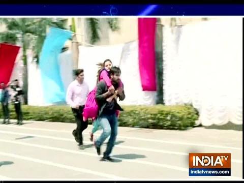 Saumya trips and falls during the race in Shakti: Astitva Ke