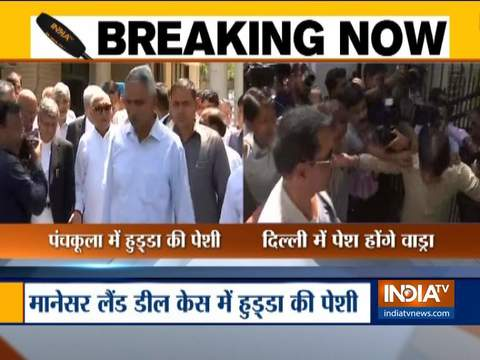 Bhupinder Singh Hooda appeared at special court in AJL plot allotment and Manesar land scam case