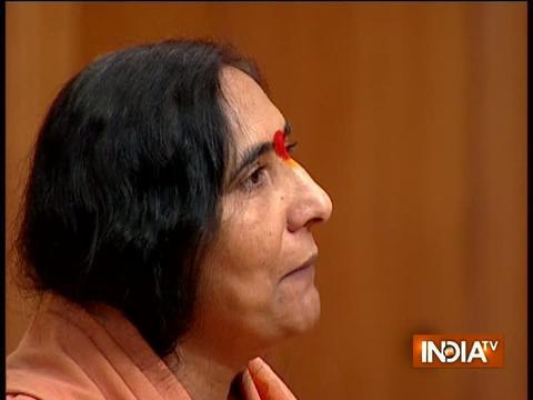 आप की अदालत: साध्वी ऋतम्भरा ने कहा- आज से 20-25 साल पहले हिंदुओं को गाली देकर राजनीति की जाती थी