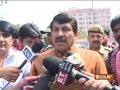 BJP MP Manoj Tiwari along with protesting SSC aspirants meet Rajnath Singh