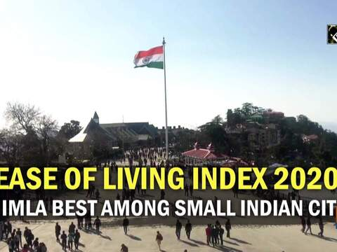 Ease of Living Index 2020: Shimla best among small Indian cities