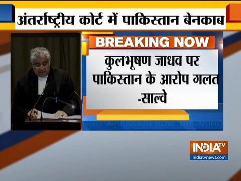 अंतरराष्ट्रीय न्यायालय में हरीश साल्वे ने कहा- पाकिस्तान दुष्प्रचार के लिए आईसीजे का इस्तेमाल कर रहा है