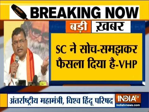 हम सभी को सुप्रीम कोर्ट के फैसले का सम्मान करना चाइये :महामंत्री मिलिंद परांडे