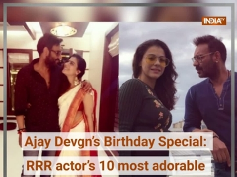 Ajay Devgn's Birthday Special: RRR actor's 10 most adorable moments with wife Kajol