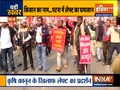 Left workers protesting against farm laws in Patna