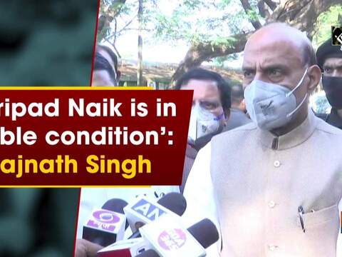 'Shripad Naik is in stable condition': Rajnath Singh