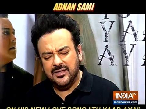 सिंगर अदनान सामी ने इंडिया टीवी से की खास बातचीत