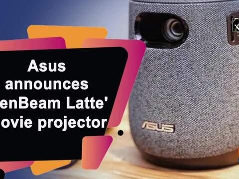 Asus announces 'ZenBeam Latte' movie projector