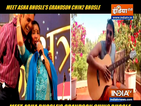 There is only one Asha Bhosle and she is the bearer of her legacy, says her grandson Chin2 Bhosle