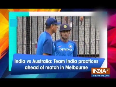 India vs Australia: Team India practices ahead of series decider in Melbourne