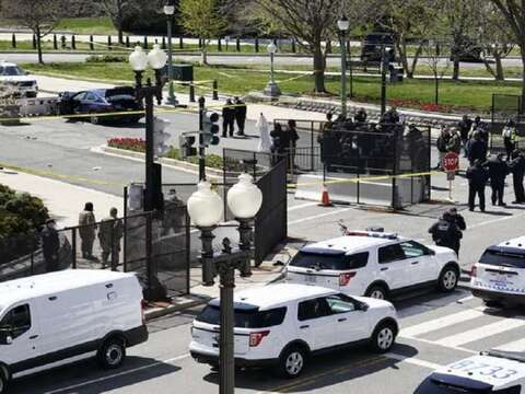 US Capitol Hill on lockdown after car hits complex barricade