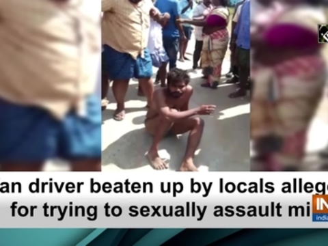 Van driver beaten up by locals allegedly for trying to sexually assault minor