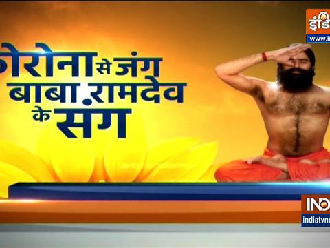 कोरोना से रिकवरी के बाद सिरदर्द की समस्या, स्वामी रामदेव से जानिए योगासन, प्राणायाम और औषधियां