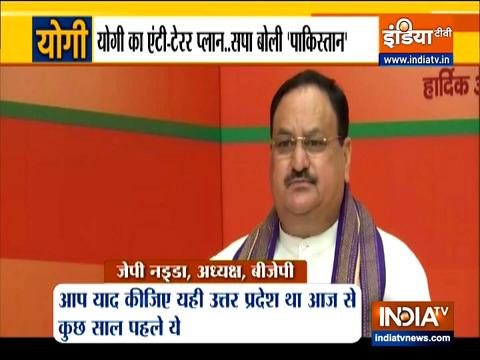 After PM Modi, BJP president Nadda lauds Yogi's governance
