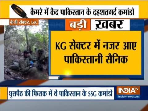 वीडियो: पाकिस्तानी सैनिकों की थी घुसपैठ की कोशिश, भारतीय सैनिकों ने की नाकाम