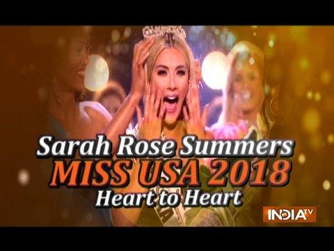 मिस यूएसए 2018 बनने के बाद नेब्रास्का सारा रोज़ समर्स ने दी अपनी प्रतिक्रिया